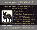 French Bulldog Breeder in DRAIN, OR, USA