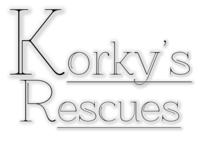 Image of website KorkysRescues