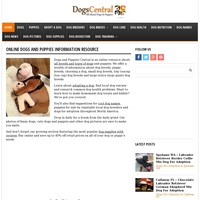 Image of website Dogs amp Puppies Central